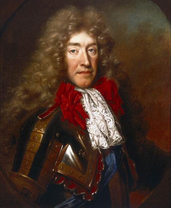Nicolas de Largillière. Retrato de Jacobo II de Inglaterra. 1686. Museo Marítimo Nacional.