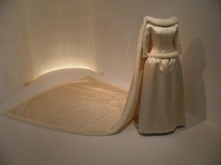 Vestido de Boda de la reina Fabiola. Cristóbal Balenciaga. 1960.Museo Balenciaga.
