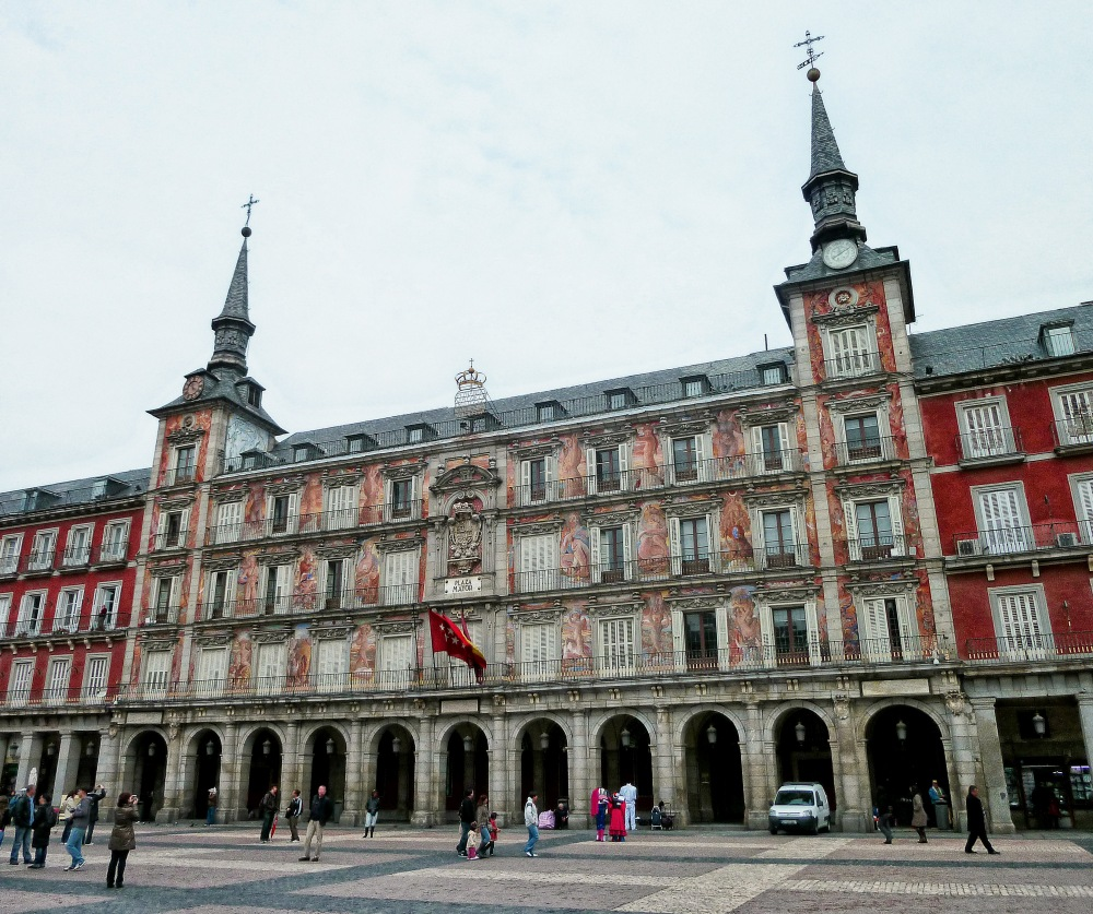 Casa de la Panaderia. Plaza Mayor. Madrid .1619.