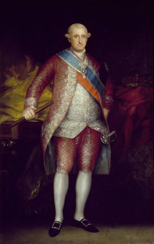 Francisco de Goya y Lucientes. Carlos IV. 1789. Museo del Prado. Madrid.