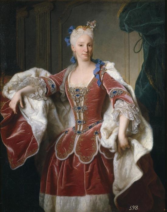Jean Ranc. Isabel de Farnesio, reina de España. 1723. Museo del Prado.