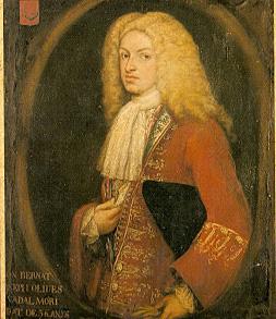 Anónimo. Bernardo José Olives de Nadal. Principios siglo XVIII.