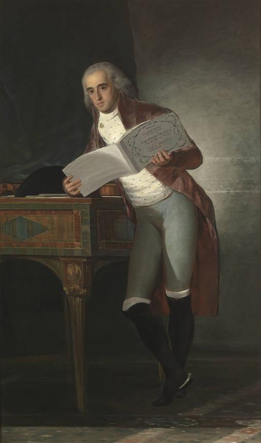 Francisco de Goya. José Álvarez de Toledo, marqués de Villafranca y duque de Alba. 1795. Museo del Prado.