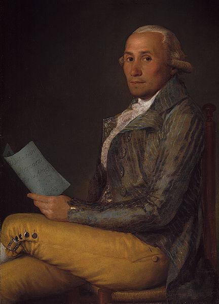 Francisco de Goya. Retrato de Sebastián Martínez y Pérez. 1792. Metropolitan Museum. Nueva York.