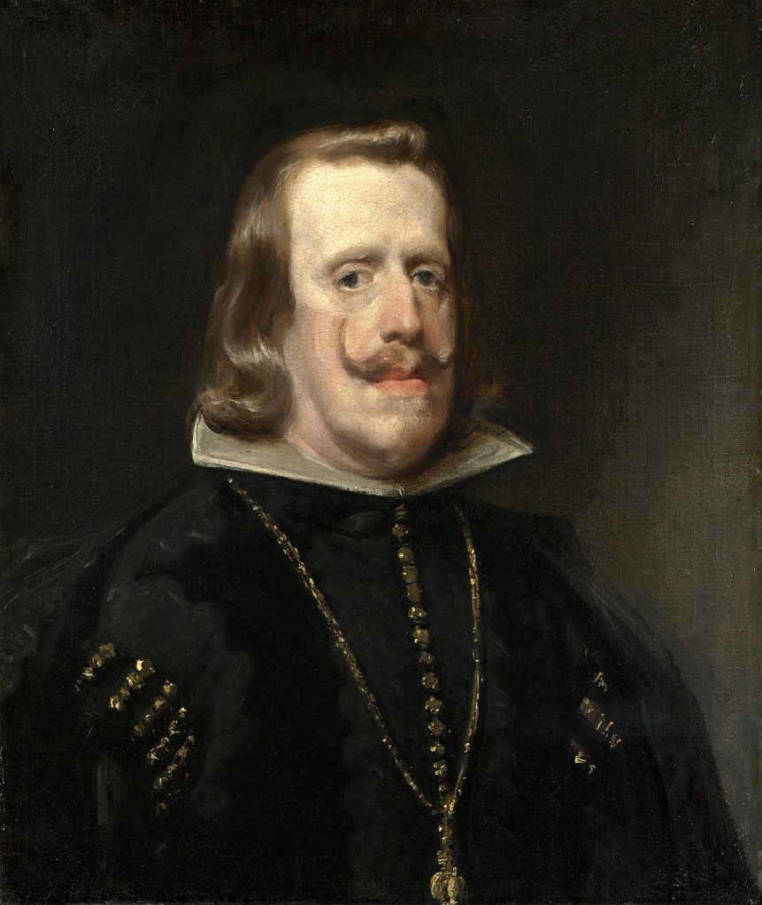 Diego Velázquez. Retrato de Felipe IV. 1556. National Gallery. Londres.