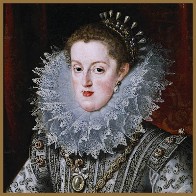 Bartolome Gonzalez. Reina Margarita de Austria.1609. Museo del Prado. Madrid.
