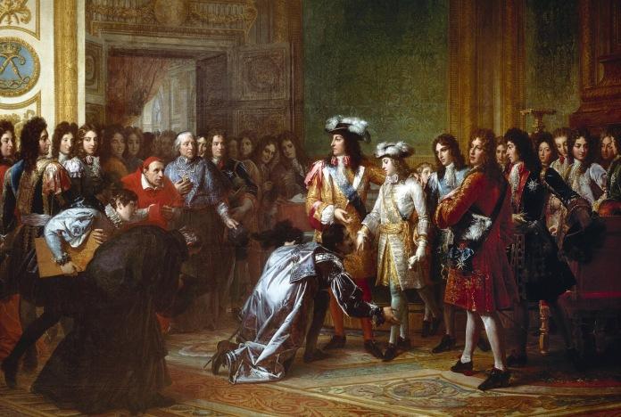 François Pascal Simon Gerard. 1800-24. Proclamación del duque de Anjou como rey de España. Versalles.