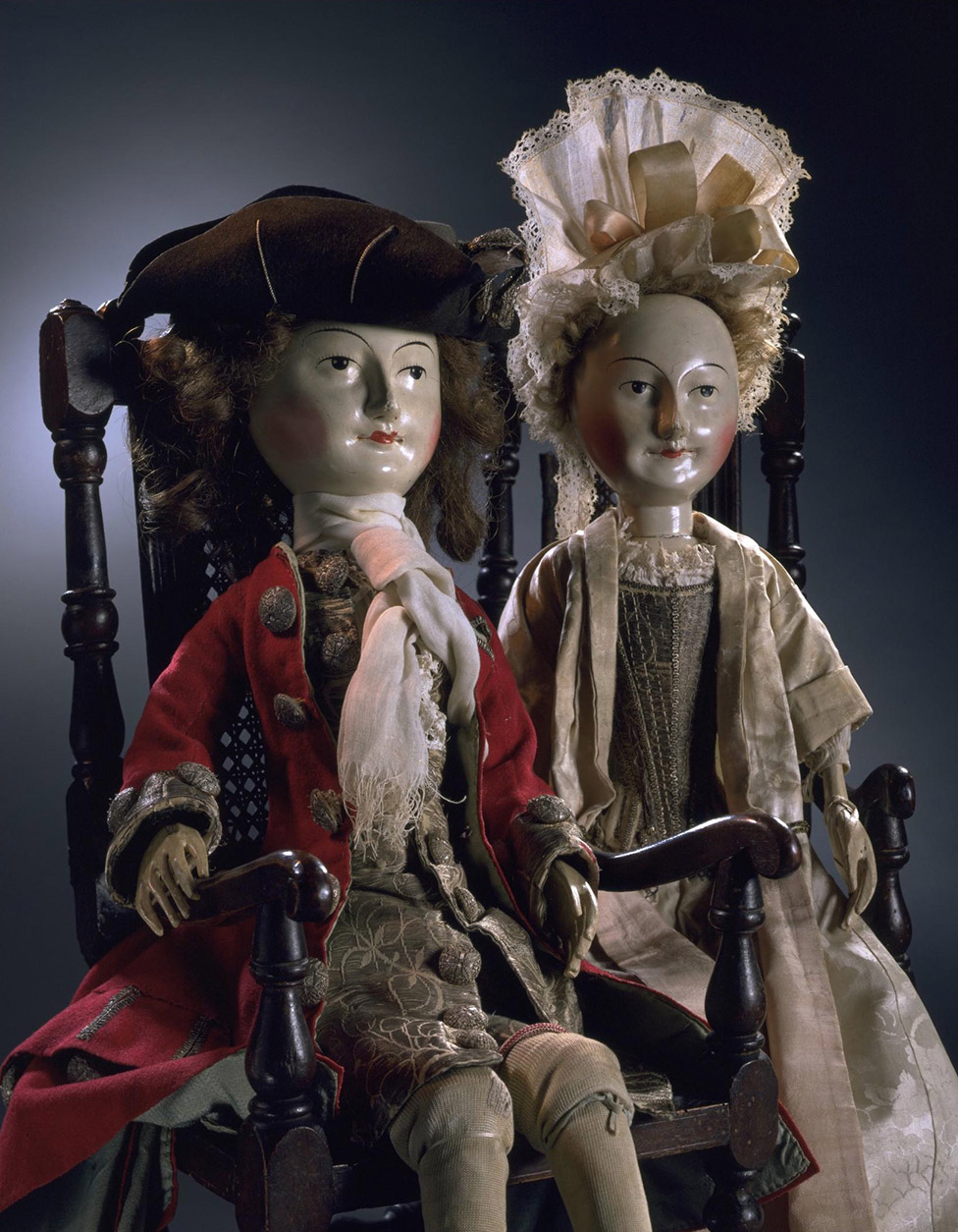 Lady Clapham. Muñeca. Hacia 1690. 1700. Victoria and Albert Museum. Londres.