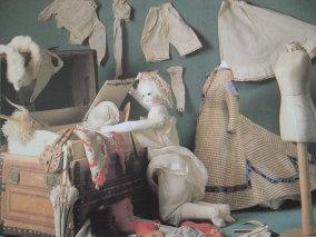 Set de muñeca moda siglo XVIII.