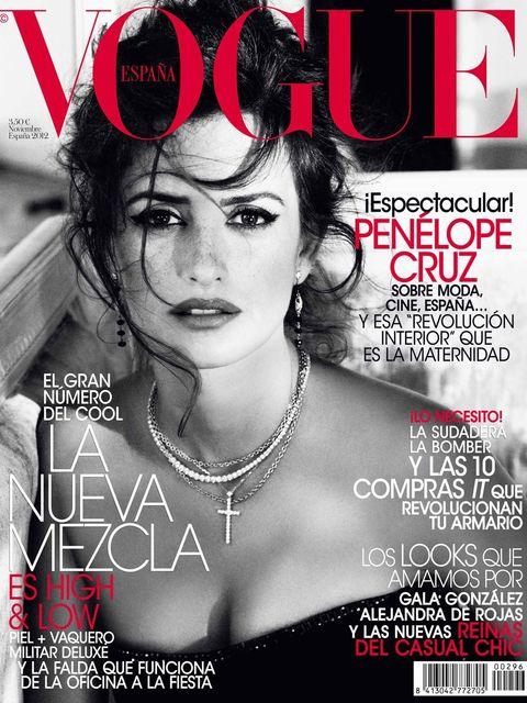 Vogue España. Noviembre 2012.