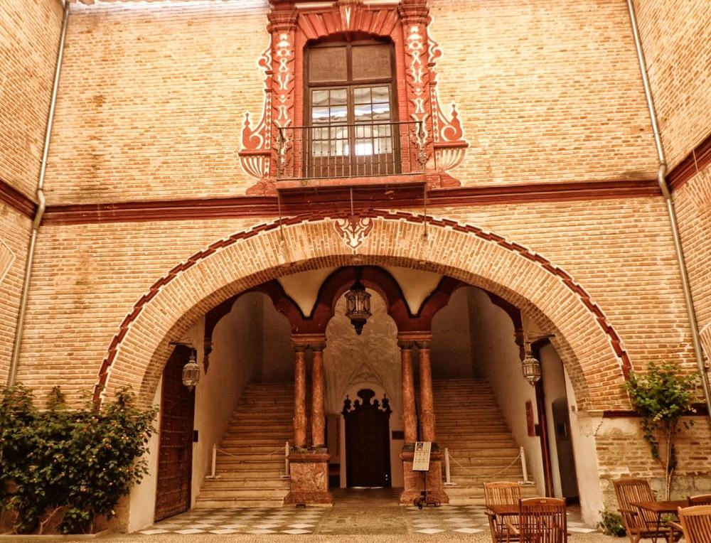 Palacio de los marqueses de Benamejí. Siglo XVIII. Monumento nacional.