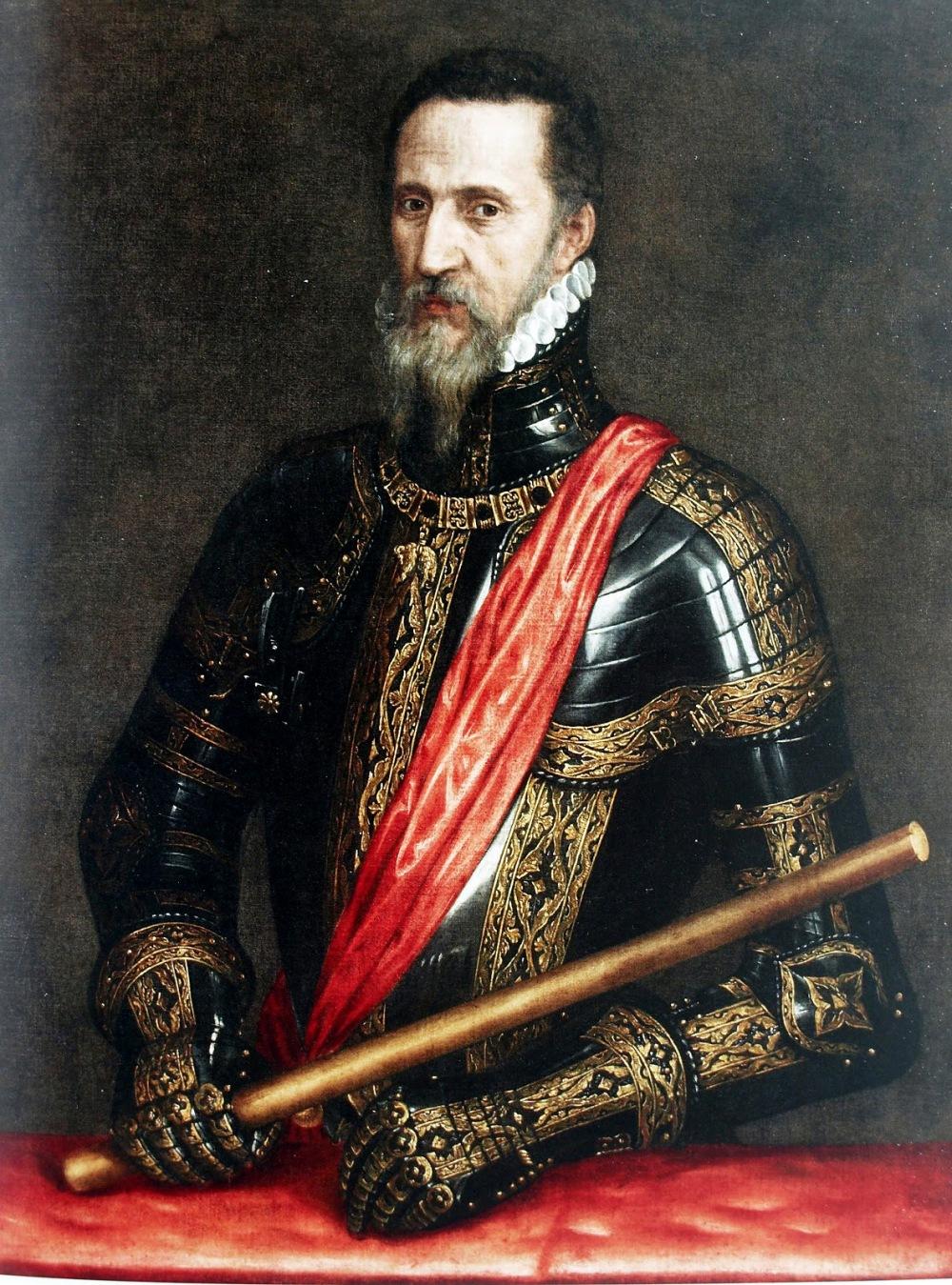 Tiziano. El duque de Alba. Primera mitad del siglo XVI. Palacio de Liria. Madrid.
