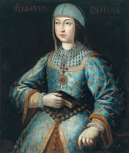 Anónimo. Retrato de Isabel la Católica. Siglo XVI. Colección del Generalife, Museo Casa de los Tiros, Granada.