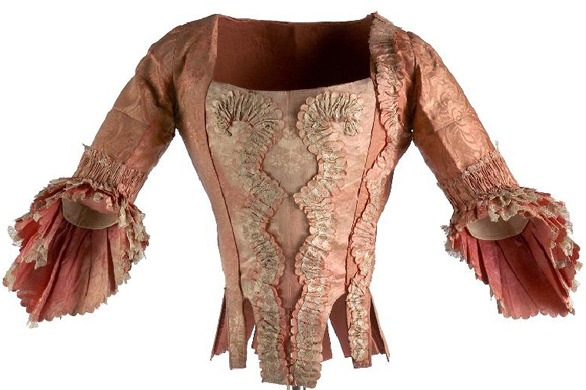 Casaca femenina. Siglo XVIII. Museo del Traje. Madrid