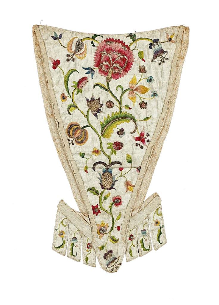 Petillo bordado. Siglo XVIII.