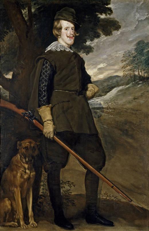 Diego Velázquez. Felipe IV cazador. Hacia 1633. Museo del Prado. Madrid.