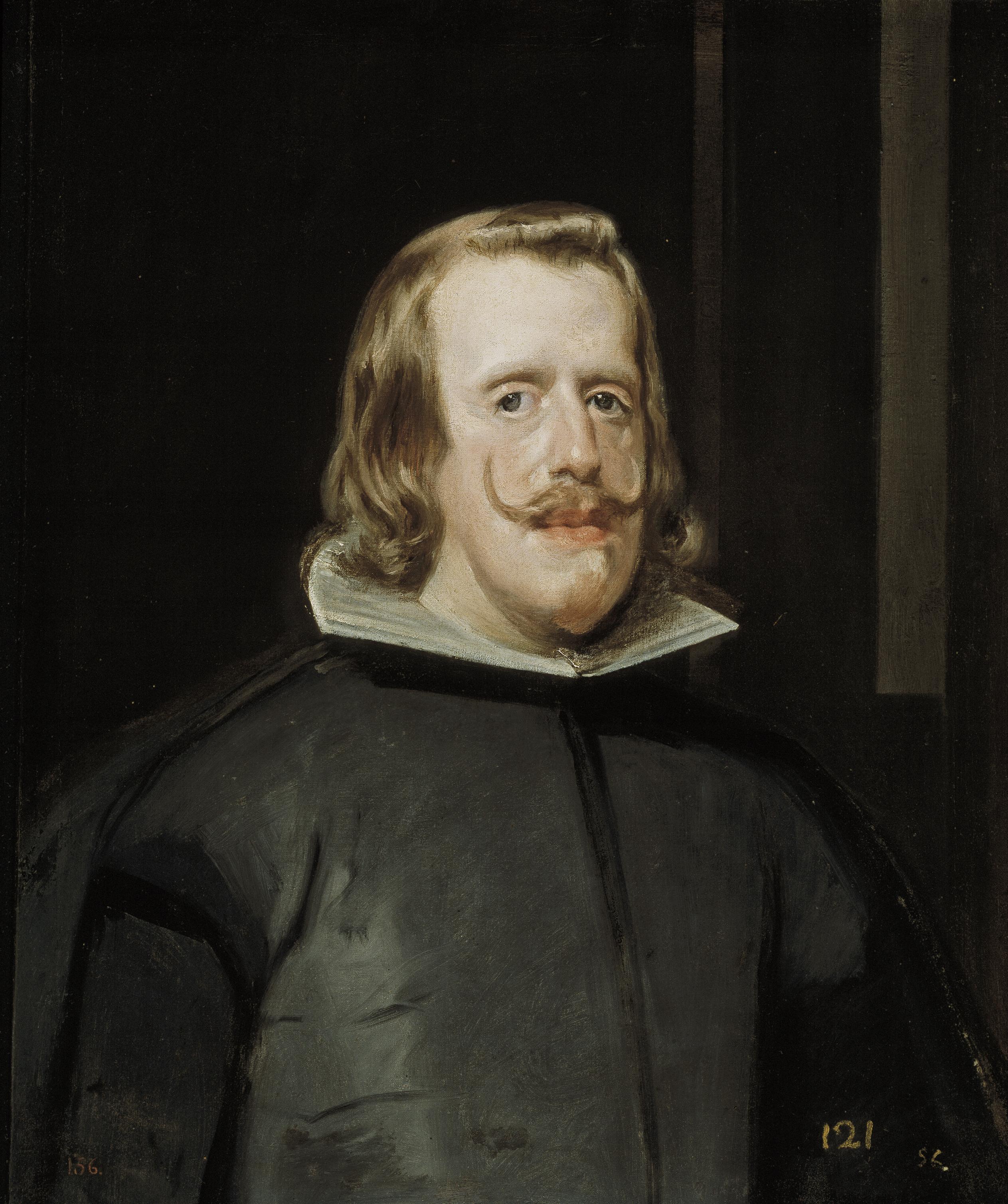Diego Velázquez. Felipe IV. Hacia 1653. Museo Nacional del Prado. Madrid.