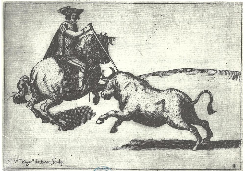Gregorio de Tapia y Salcedo. Rejoneo.