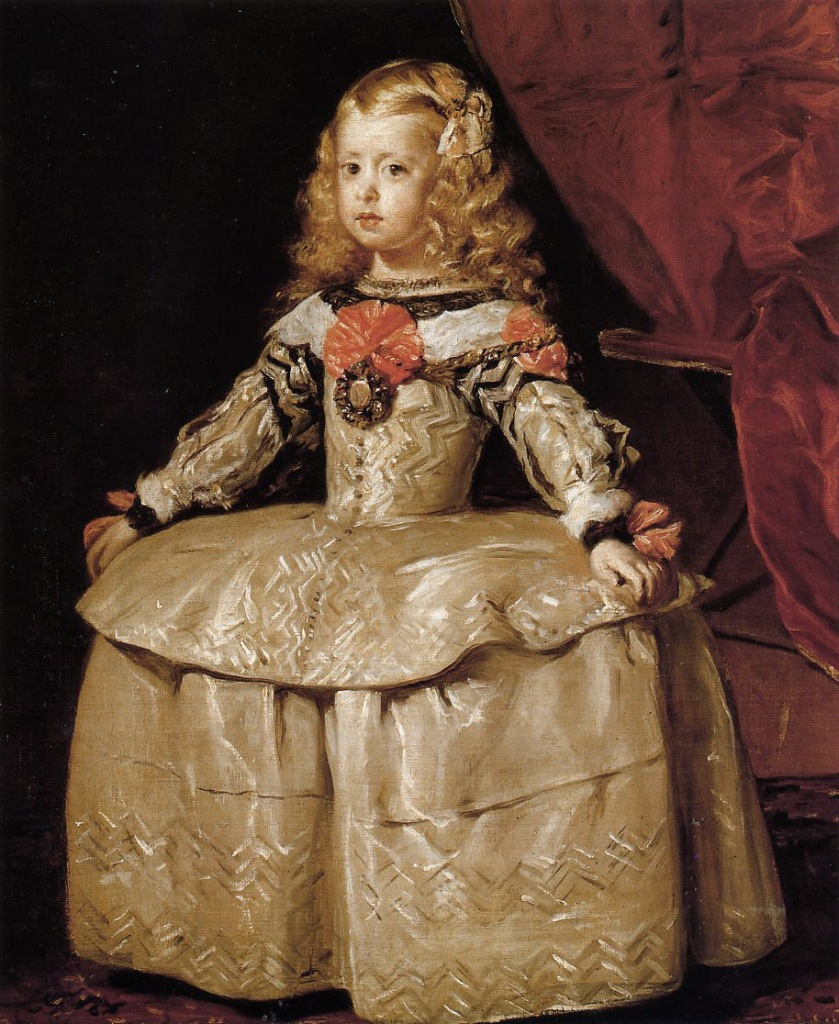 Diego Velázquez. Infanta Margarita. 1656. Kunsthistorisches Museum. Viena.