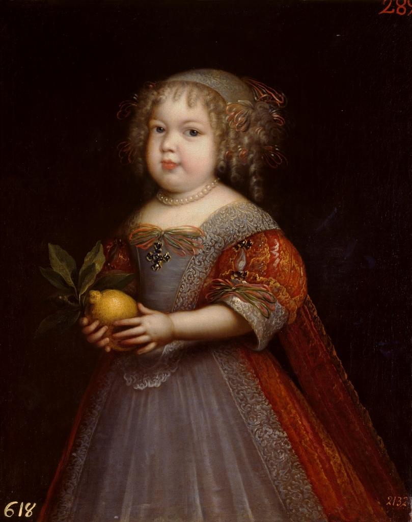 Jean Nocret. Maria Teresa de Borbón. 1670. Museo del Prado. Madrid.