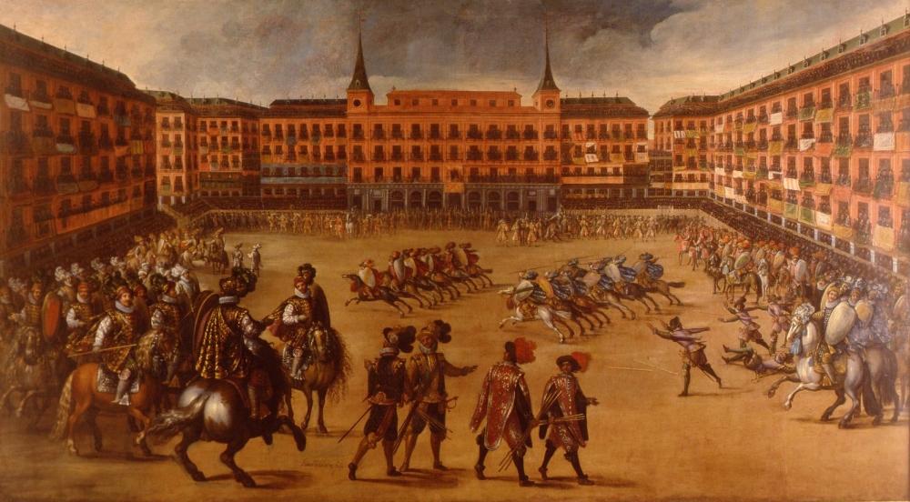 an de la Corte. Plaza Mayor de Madrid. Museo Municipal. Madrid.