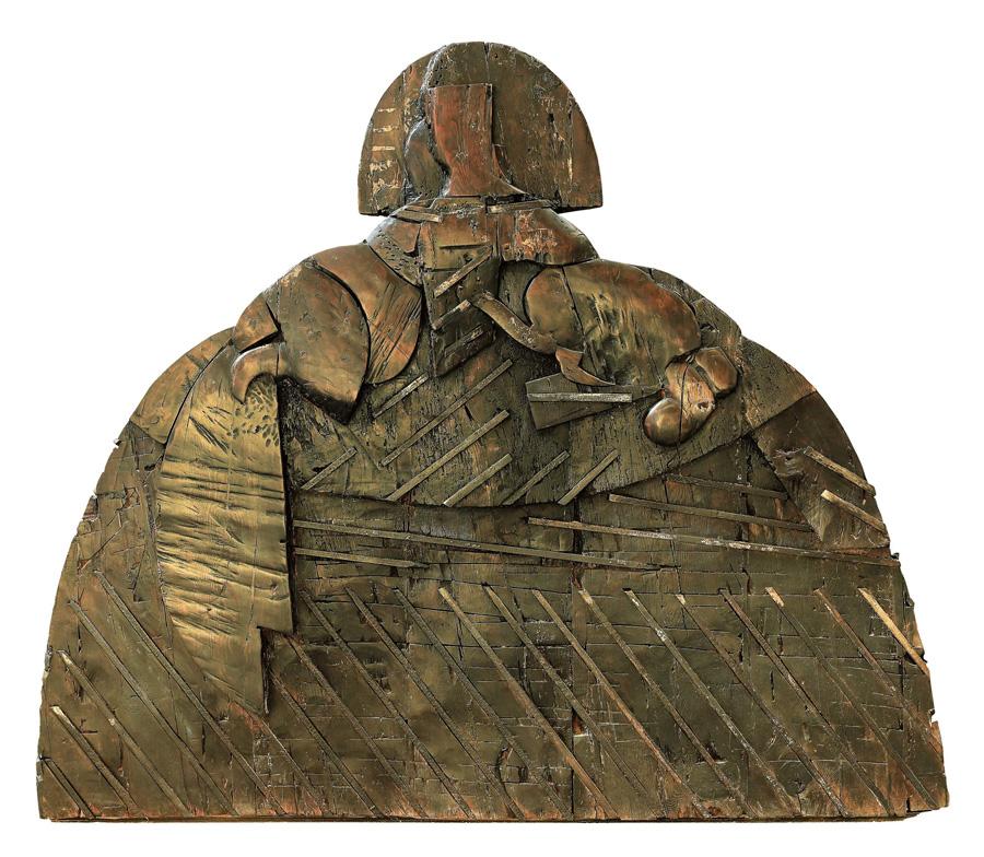 Manolo Valdés. Estatua de Menina.