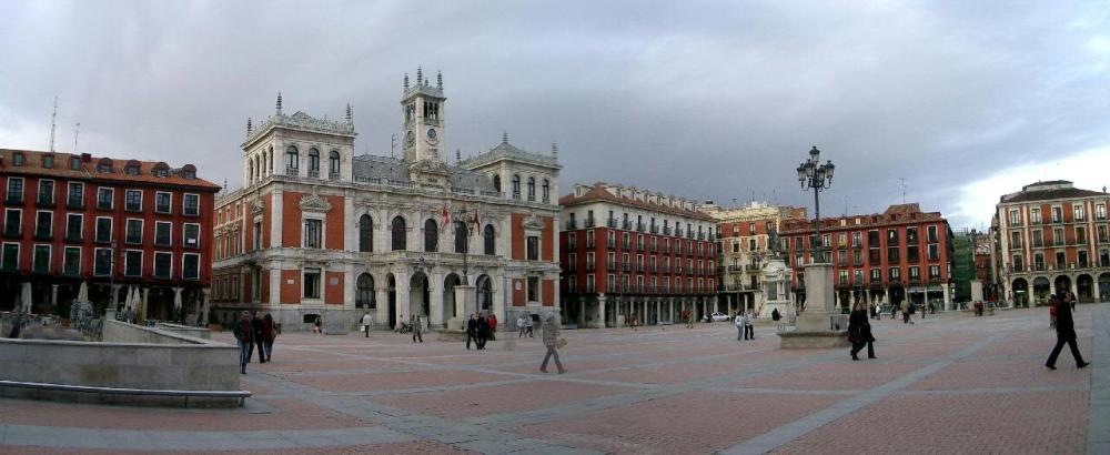 Plaza Mayor de Valladolid en la actualidad.