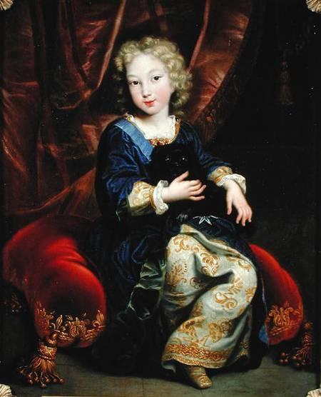 Pierre Mignard. Futuro rey Felipe V de España. 1686. Castillo de Versalles. Francia.