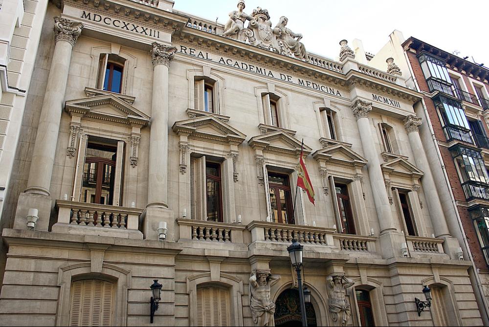Real Academia de  Medicina.
