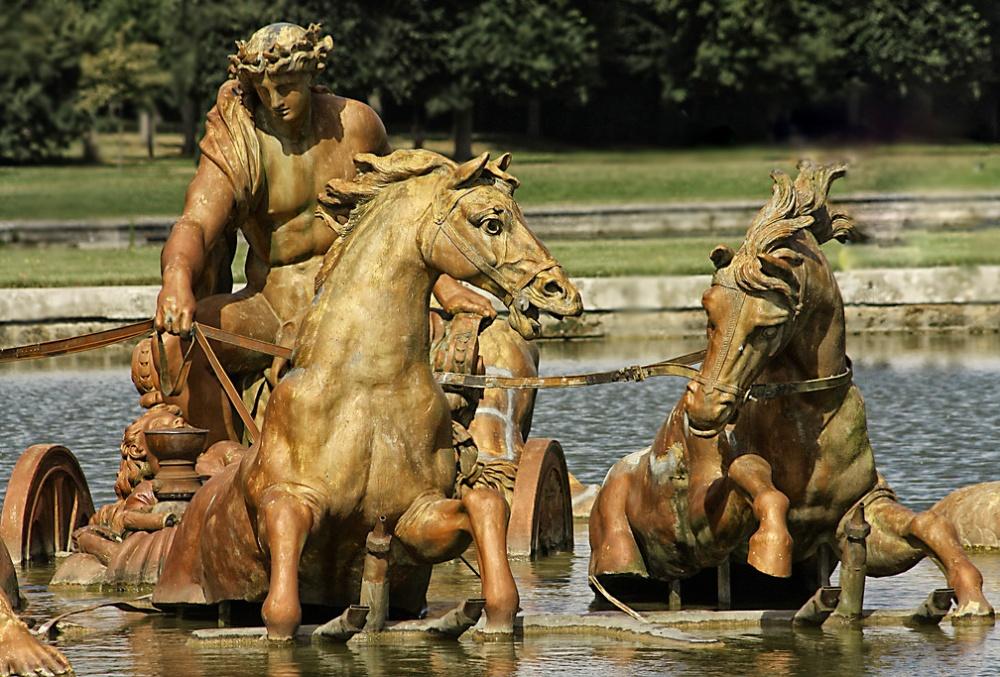 Carro de Apolo. Palacio de Versalles.