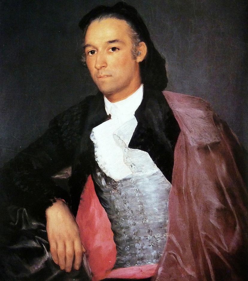 Francisco de Goya. Retrato de Pedro Romero. 1795-1798. Kimbell Arte Museum. Fort Worth. Texas. Estados Unidos.