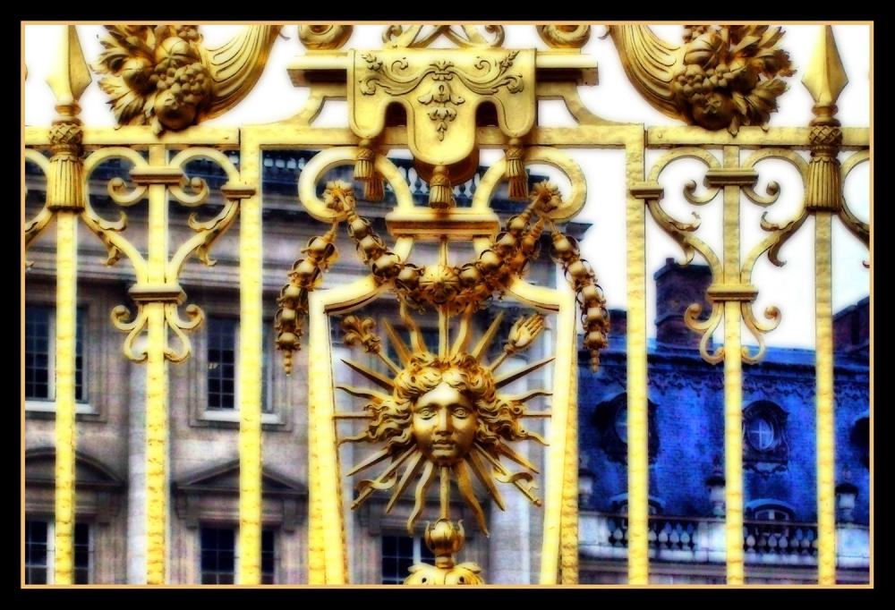 Verja en el Palacio de Versalles.