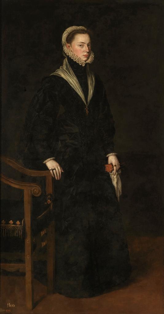 Antonio Moro..Doña Juana de Austria. 1560. Museo de Prado. Madrid.