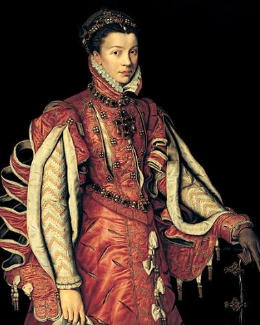 Antonio Moro. Retrato de Isabel de Valois. Hacia1660. Colección Várez Fisa. Madrid.