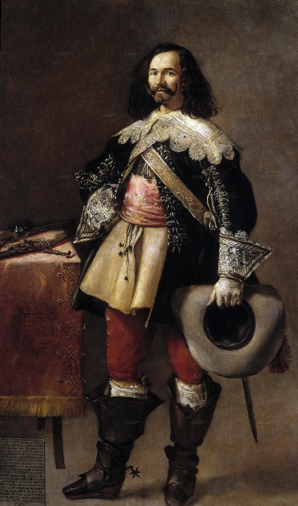 Fray Juan Ricci. Don Tiburcio de Redín y Cruzat. 1635. Museo del Prado. Madrid.