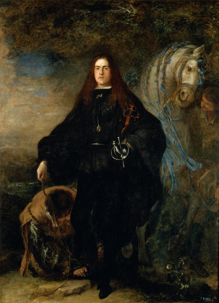 Juan Carreño de Miranda. El duque de Pastrana. Hacia 1679. Museo del Prado. Madrid.