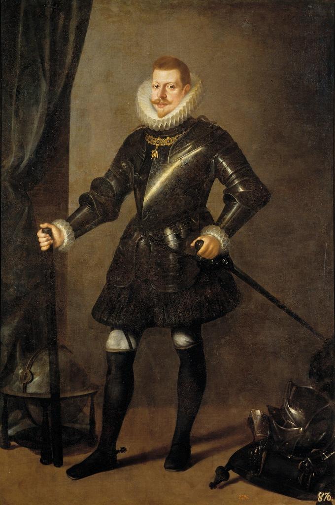 Pedro Antonio Vidal. Felipe III de España. 1617. Museo del Prado. Madrid.