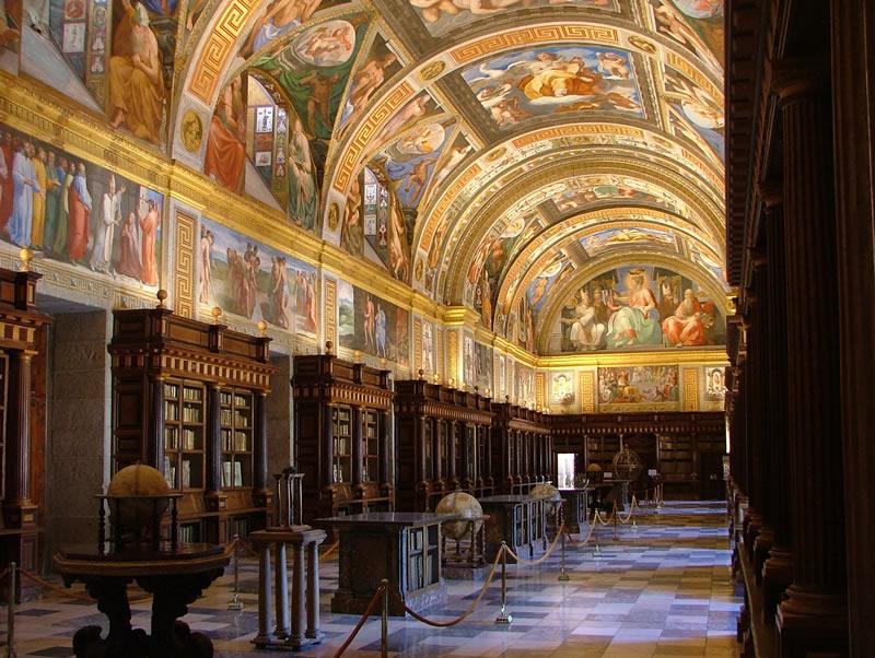Real Biblioteca. Monasterio de San Lorenzo de El escorial.