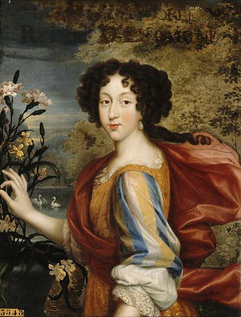 Anónimo. María Luisa de Orléans. Siglo XVII. Museo Nacional del Palacio de Versalles.