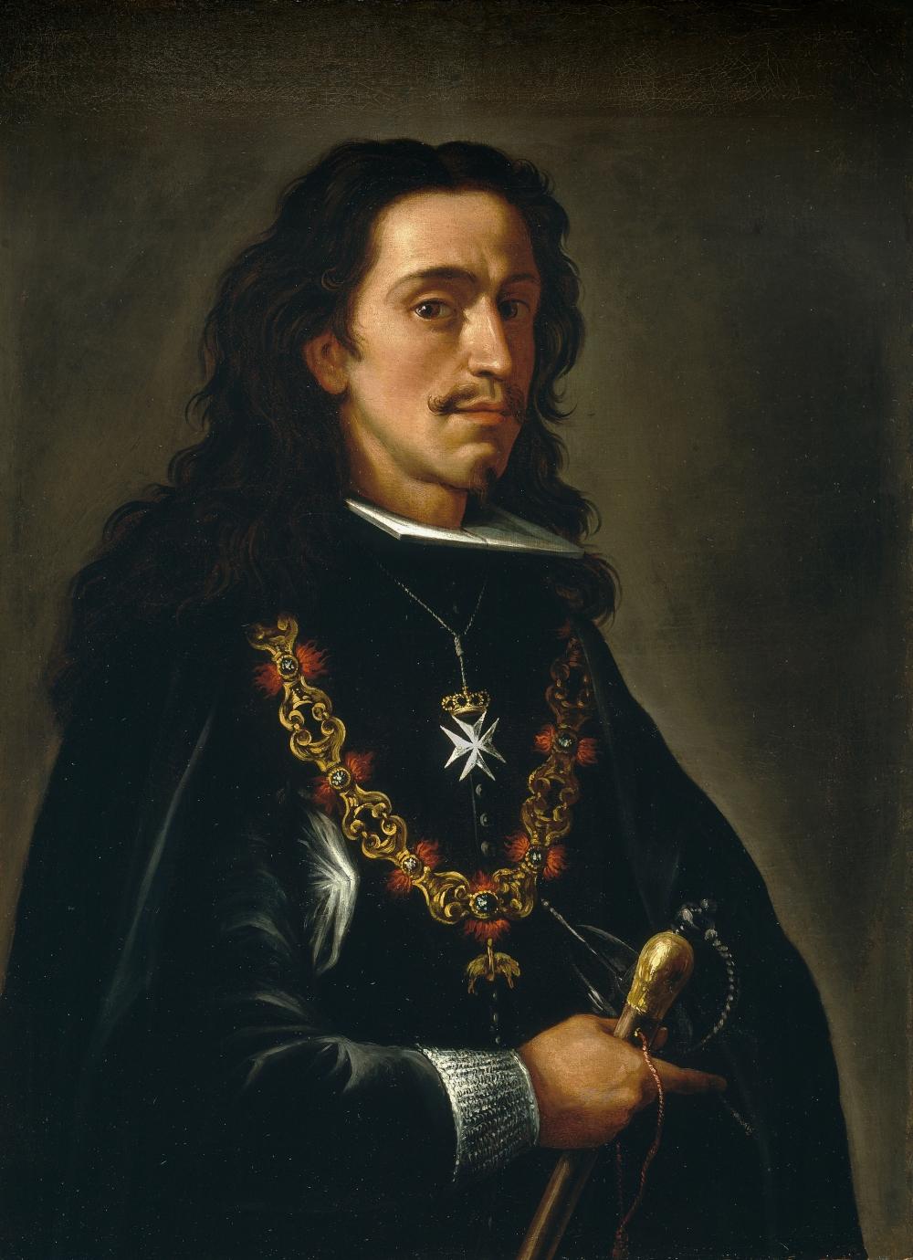 Anónimo. Posible retrato de Juan_Jose_de_Austria. Museo del Prado. Madrid.