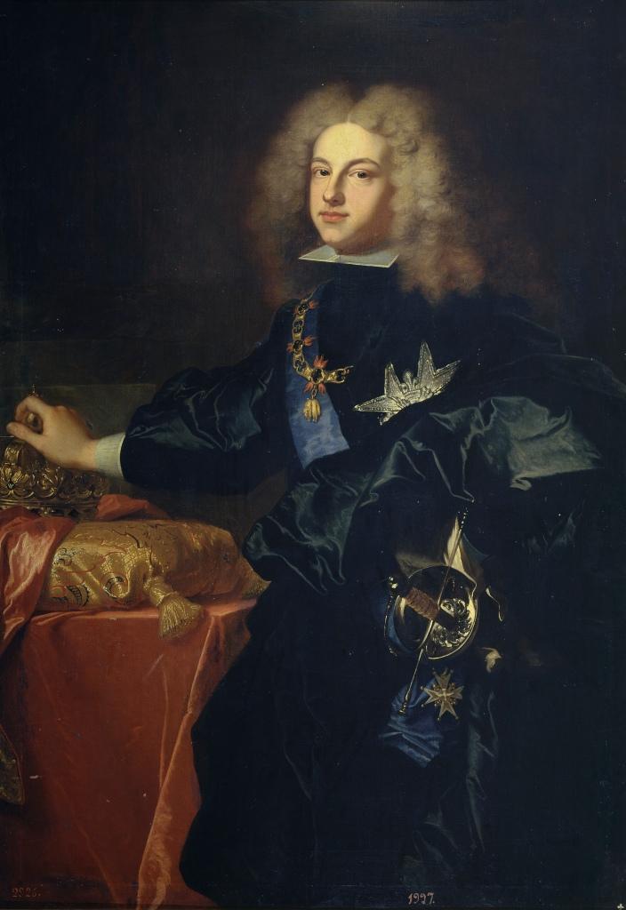 Jacinto Rigaud. Felipe V. 1701. Museo del Prado. Madrid.