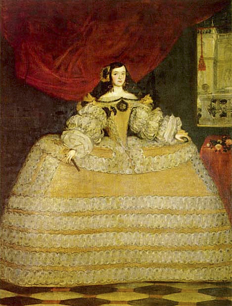 Juan Carreño de Miranda. Doña Francisca de Velasco, Marquesa de Santa Cruz. Hacia 1665-1670. Colección particular. Madrid.
