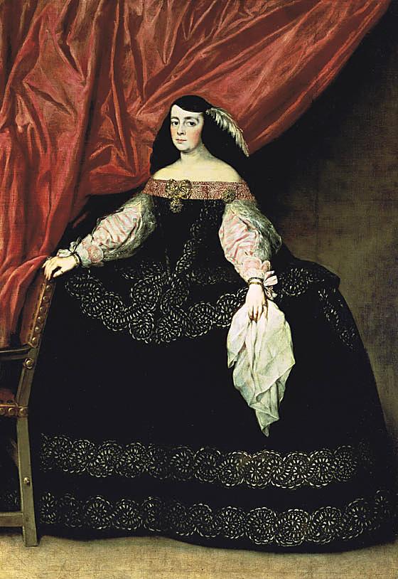 Juan Carreño de Miranda. Doña María de Vera y Gasca. Hacia 1670. Colección BBVA..
