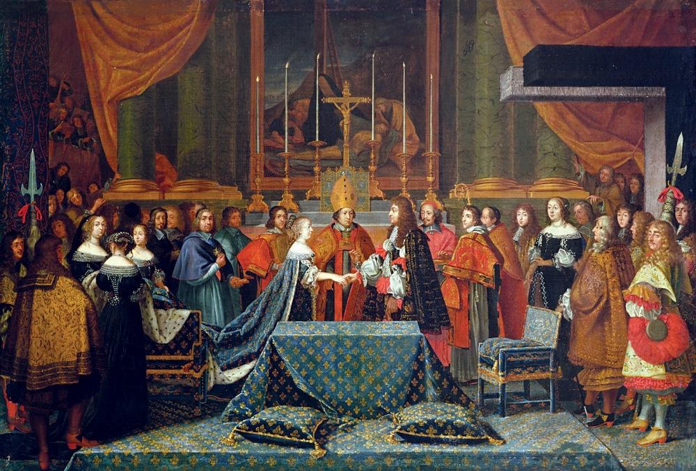 Laumosnier. Boda de Louis XIV. Siglo XVII. Museo de Tessé. Le Mans.