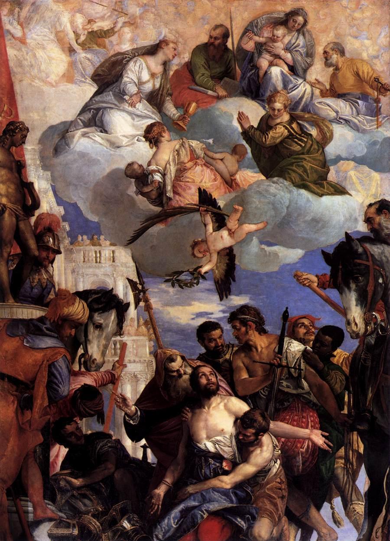Paolo Veronés. Cerca 1564. Martirio de San Jorge. Iglesia de San Giorgio in Braida. Verona.