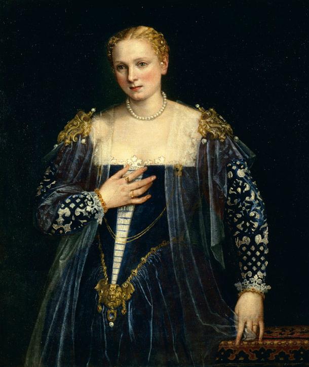 Paolo Veronés. Retrato de una dama. 1560-65. Museo del Louvre. Paris.