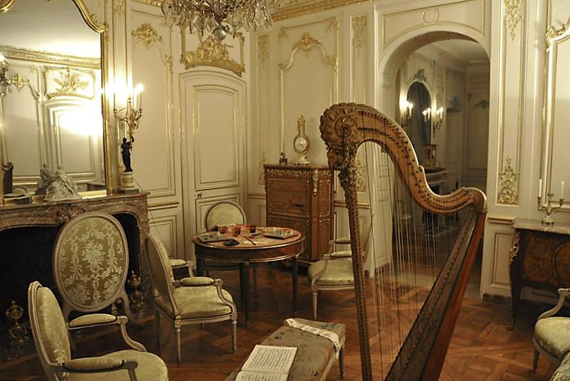 Salón del siglo XVIII. Museo Lambinet. Versalles.
