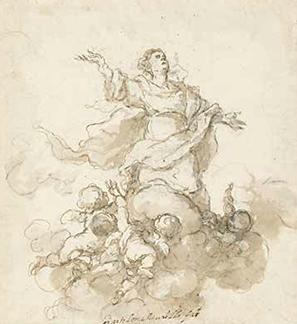 Bartolomé Esteban Murillo. Asunción de la Virgen. 1665-1670.