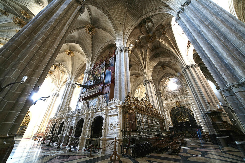 Catedral de La Seo. Interior. Siglos XIV- XV. Zaragoza.