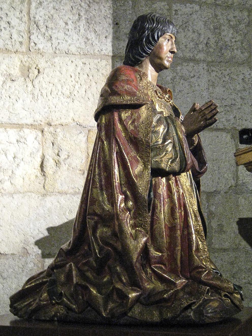 Felipe Bigarny. Fernando el Católico. Hacia 1521. Capilla Real de Granada.